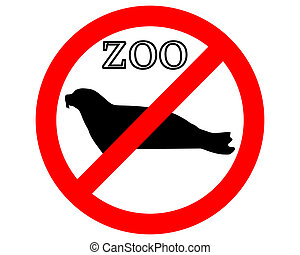 Seal in zoo prohibited