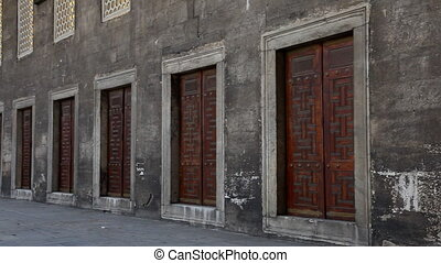 Blue Mosque Doors, shooting Canon 5D MarkII