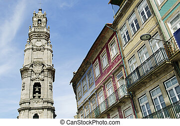 clerigos tower in porto portugal - clerigos tower porto...