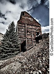 Old abandoned mine in Colorado