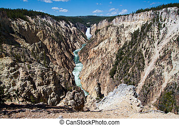 Grand Canyon of the Yellowstone, WY - Grand Canyon of the...
