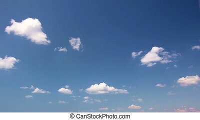 time lapse clouds 3 - time lapse clouds, shooting Canon 5D...