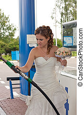 The bride on refueling