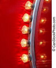 Abstract christmas lamp