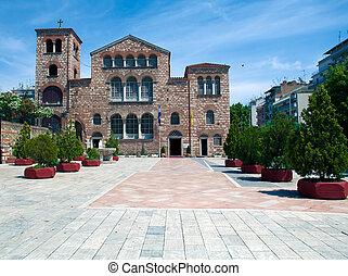 Dimitrios church, Thessaloniki - Agios Dimitrios church,...