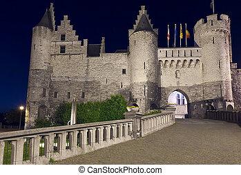 Medieval castle Het Steen, Antwerp - Medieval castle Het...