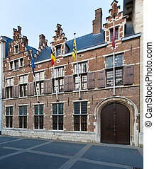 House-museum of Rubens, Antwerp, Belgium