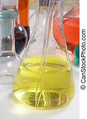 Glass. Laboratory