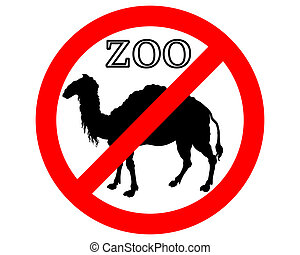 Camel in zoo prohibited