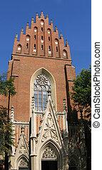 Church in Krakow (Poland)