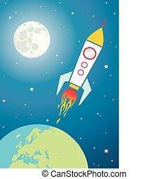 Nave espacial, espacio