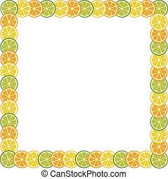 fruits frame