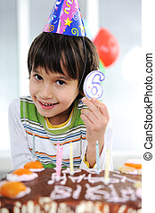 Child birthday, 6 years old