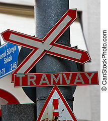 Traffic signs - Clutter of traffic signs in the city