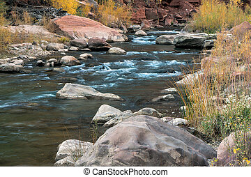 Virgin River in autumn