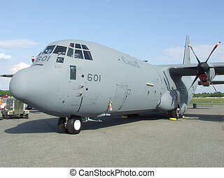 Canadian Army Transport Airplane - This is a picture of a...
