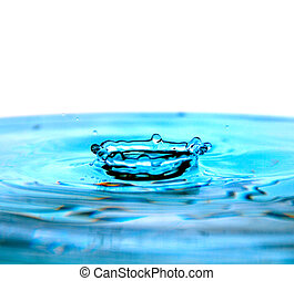 drop on water