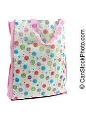 a colorful cotton bag