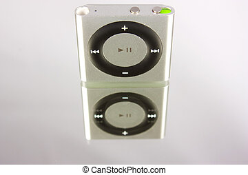 New Apple iPod Shuffle - New gray Apple iPod Shuffle in...
