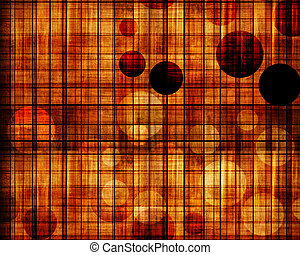 grunge wood chessboard background