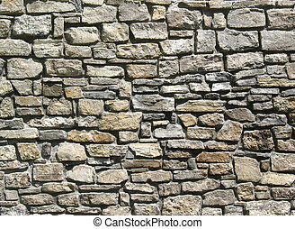 stone wall - irregular natural stone wall for texturing