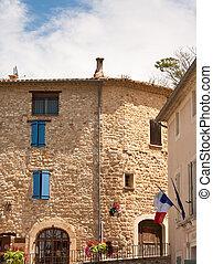 Beaumes-de -Venise - Beaume-de- Venise village in the south...