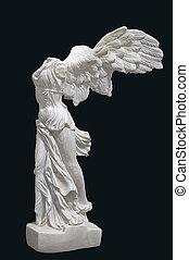 Greek, classical, statue, 'Nike'
