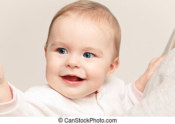 Cute smiling baby