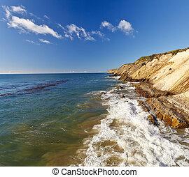 Pacific Ocean coast, California