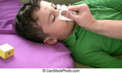 Sick Little Boy Full HD 1080p - Little Boy Intensive Care
