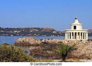Lighthouse at Argostoli of Kefalonia - Lighthouse of St....