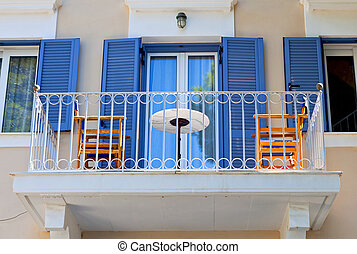Traditional house at Kefalonia Greece - Traditional house at...