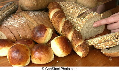 Different kind of bread