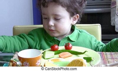 Breakfast for a Little Boy