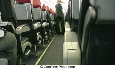 Air plane Cabin   Full HD 1080p