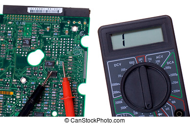Printed circuit board and multimeter