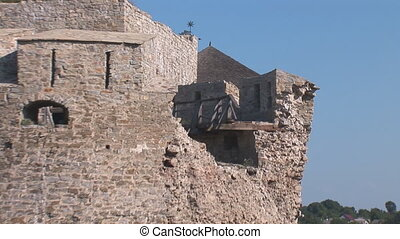 fortress kp 8 - old fortress tower damage 02082011 ,...