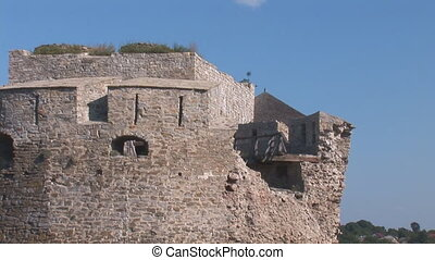 fortress kp 6 - old fortress tower damage 02082011 ,...