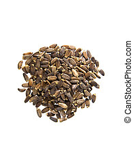 Milk Thistle Seeds noted for their liver detoxifying uses....