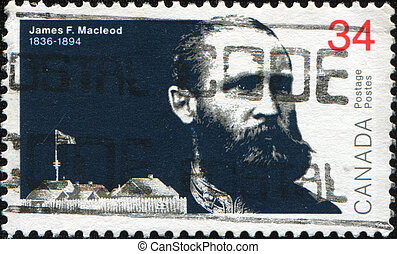 Lieutenant-Colonel James Farquharson Macleod - CANADA -...