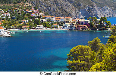 Fishing village at Kefalonia - Traditional fishing village...