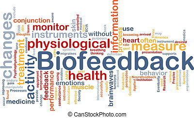 Biofeedback background concept - Background concept...