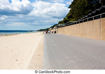 Branksome Chine Beach Poole Dorset England UK