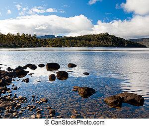 Lake St Clair National Park, Tasmania Australia