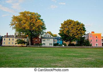 salem - downtown city of Salem, massachussets, america