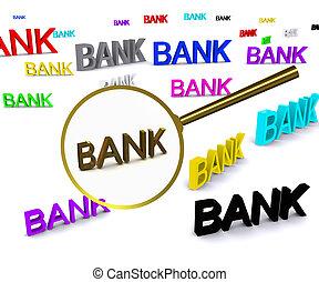 Search bank