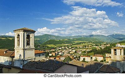 A View of Cascia, Umbria, Italy