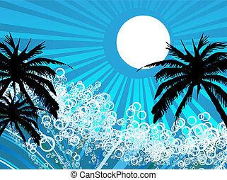 Seaside background