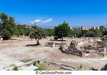 Agora, Acropolis, Athens, Greece
