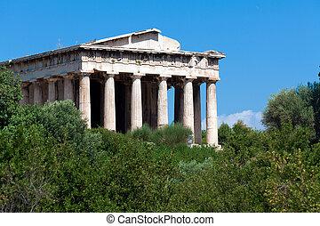 templo, Hephaistos